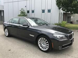 2011 BMW 750LI XI NAVIGATION CAMERA 74KM TV AWD LONG WHEEL BASE