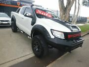 2012 Ford Ranger PX XLT Super Cab 4x2 Hi-Rider White 6 Speed Sports Automatic Utility Merrylands Parramatta Area Preview