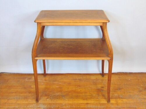 Vintage Antique Two Level Dinning Area Side Table