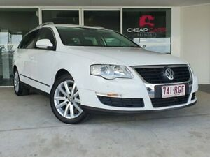 2010 Volkswagen Passat Type 3C MY10.5 118TSI DSG White 7 Speed Sports Automatic Dual Clutch Wagon Brendale Pine Rivers Area Preview