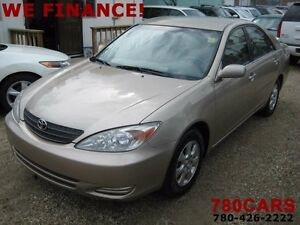 2002 Toyota Camry LE 4dr - YES WE DO TRADES + BUY VEHICLES!