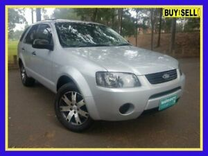 2008 Ford Territory SY SR Silver Sports Automatic Wagon Lansvale Liverpool Area Preview