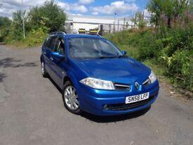 2008(58reg) Renault Megane Estate AUTOMATIC 1.6 MOT'd Feb £1395