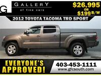 2012 TOYOTA TACOMA TRD *EVERYONE APPROVED* $0 DOWN $199/BW!