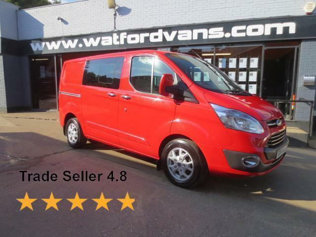 2014 Ford Transit Custom 290 Limited 2.2TDCi 155ps 6Seat Crew Van *Fully Loaded*