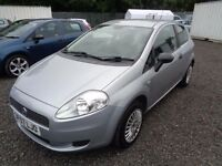 FIAT PUNTO ACTIVE 2007 1242cc 3 DOOR SILVER 78,000 MILES MOT TILL 27/05/17 GOOD CONDITION
