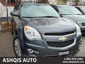 2010 Chevrolet Equinox 1LT AWD Nav. back up Camera Sunroof