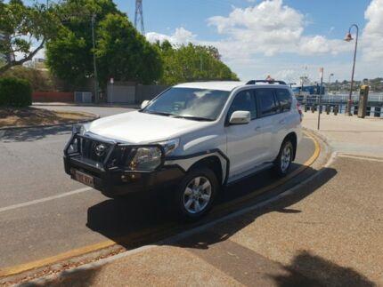 2016 Toyota Landcruiser Prado GXL White 6 Speed Sports Automatic Wagon Newstead Brisbane North East Preview