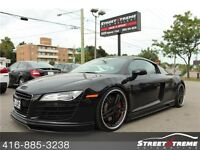 2012 Audi R8  w/18K, REIGER KIT,CARBON BLADES, NAVI, 20' WHEELS