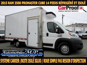 2015 Ram Promaster 3500 CUBE 14 PIEDS ROUE simple refrigere