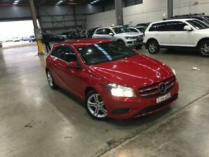 2014 Mercedes-Benz A180 W176 D-CT Red 7 Speed Sports Automatic Dual Clutch Hatchback Port Melbourne Port Phillip Preview
