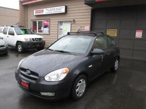 2007 Hyundai Accent GS Winter Tires