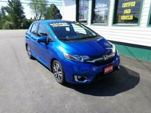2016 Honda Fit EX-L w/ NAV for only $179 bi-weekly all in!