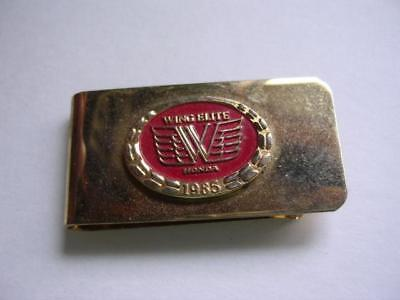 Neat 1985 Honda Wing Elite Money Clip