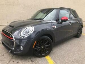 2016 Mini Cooper S **only 33,750kms** 5 door 2.0Turbo Manual