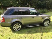 Range Rover Sport HSE 3.6 TDV8 Grey Private Plate Inc
