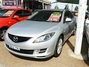 2008 Mazda 6 GH1051 Classic Silver 5 Speed Sports Automatic Sedan Minchinbury Blacktown Area Preview