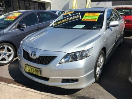 2008 Toyota Camry ACV40R Sportivo Silver 5 Speed Automatic Sedan
