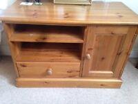 short wood cabinet for bedroom or tv