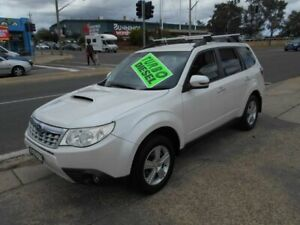 2011 Subaru Forester S3 MY11 2.0D AWD White 6 Speed Manual Wagon Fyshwick South Canberra Preview