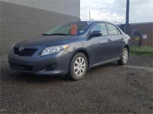 2009 Toyota Corolla CE Automatic transmission NO CLAIMS 1 OWNER