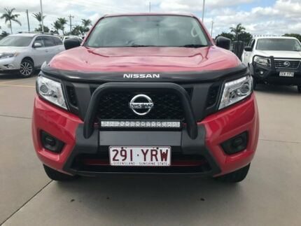 2017 Nissan Navara ST Red 7 Speed Automatic Dual Cab Pialba Fraser Coast Preview