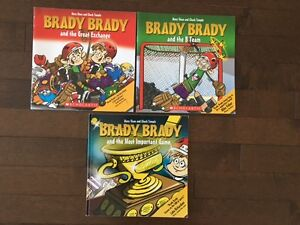 Brady Brady books for hockey fans