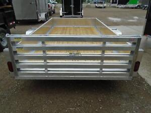 6X12 ALUMINUM UTILITY - SOLID SIDES, BI-FOLD GATE - SPECIAL! London Ontario image 8