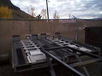 Atv sled deck