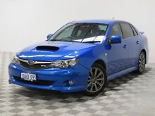 2009 Subaru Impreza MY09 WRX (AWD) Blue 5 Speed Manual Sedan Jandakot Cockburn Area Preview