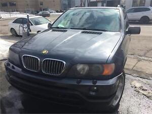Belle BMW X5 2003,A\C,grpe electri,Mag,toit,cuir,Navigation,2999