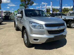 2014 Holden Colorado RG MY15 LS Crew Cab Silver 6 Speed Manual Utility Lilydale Yarra Ranges Preview