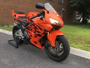 RARE Honda Cbr 600rr Orange Tribal 2006 15 300km I speak English