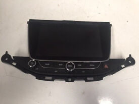 VAUXHALL ASTRA K NAVI TOUCH SCREEN MONITOR AND CONTROLS - 39042448
