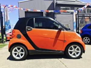 2008 Smart ForTwo 451 Coupe 5 Speed Automatic Coupe