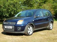 FORD FUSION 1.4 ZETEC 5d 80 BHP 1 Years MOT (blue) 2010