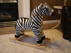 Rocking Horse and a Circus Tent