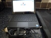 """DELL 11.6 """" CHROMEBOOK--LITTLE USED & UNMARKED CONDITION"""