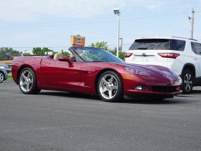 2007 Red Chevrolet Corvette Convertible  | C6 Corvette Photo 1