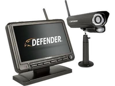 "Defender PHOENIXM2 Digital Wireless 7"" Guard DVR Security System with Night Vi"