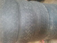 205/55R16 Winter Snow Tracker set of 4 used tires