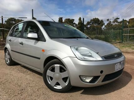 2004 Ford Fiesta WP Ghia Silver 4 Speed Automatic Hatchback