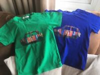 2 boys designer tshirts suitable for approximate age 4-5