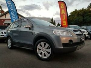 2010 Holden Captiva CG MY10 LX (4x4) Grey 5 Speed Automatic Wagon Mount Hawthorn Vincent Area Preview