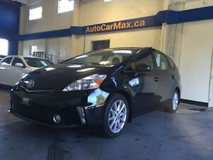 2013 Toyota Prius V NAVIGATION-CUIR-TOIT PANORAMIC-COMME NEUF!!