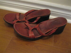 STRAPPY WEDGE SANDALS ... VERY COMFORTABLE!