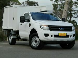 2012 Ford Ranger PX XL White 6 Speed Manual Cab Chassis Strathalbyn Alexandrina Area Preview
