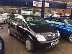 2005 05 VAUXHALL MERIVA 1.7 LIFE 5D 100 BHP **** GUARANTEED FINANCE **** PART EX WELCOME