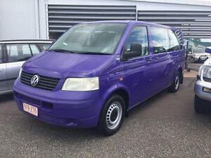 2007 Volkswagen Transporter 5 SEATER LIGHT GOODS Purple 4 Speed Auto Active Select Van Hidden Valley Darwin City Preview