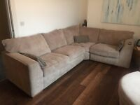 Beautiful 9ft L Shaped Sofa and Chair from House of Fraser - Linea